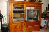 TV Entertainment center in Pasadena, Texas