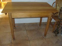 Antique ca. 1930 beech table *reduced* in Ramstein, Germany