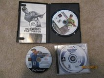 Lot of 3 Tiger Woods Games for PS2 in Columbus, Georgia