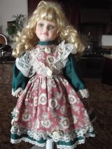 "Victorian Porcelain Doll 16"" by Susan Harris in Alamogordo, New Mexico"