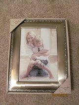 5x7 Silver Frame NEW in box in Columbus, Georgia